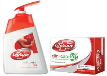 les savons antiseptiques lifebuoy sont achetés par 25% des consommateurs dans le
