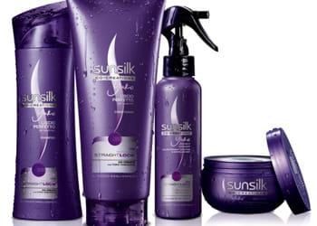 les consommateurs achètent en moyenne 5,3 fois des produits sunsilk par an.