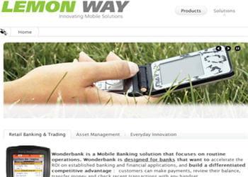 lemon way édite des solutions de m-banking