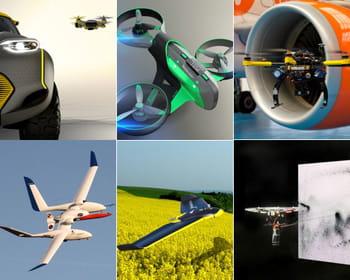 les drones couvrent presque tous les domaines d'applications.