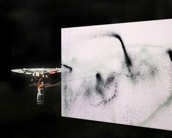 le drone artiste.