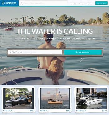boatbound, plateforme de location de bateaux entre particuliers