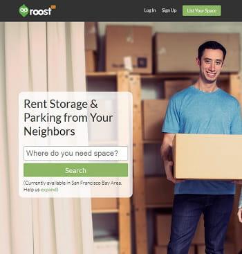 roost, l'airbnb des espaces de stockage