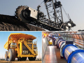 les plus grosses machines industrielles