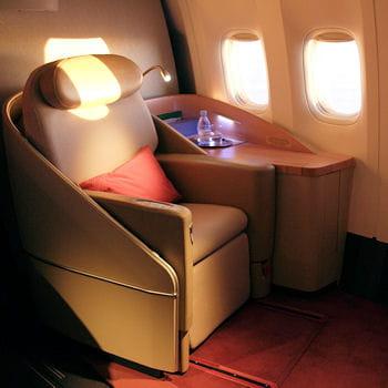 l'espace première d'un boeing 777