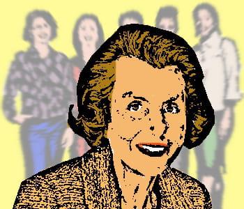lilliane bettencourt, actionnaire principale de l'oréal.