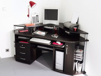 Utilisez les coins bien am nager son int rieur quand on travaille chez soi - Construire un bureau d angle ...