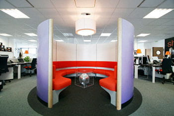 un'pod', lieu de rencontre informel au technocentre