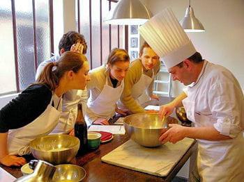 prendre un cours collectifde cuisine assure au moins un bon repas