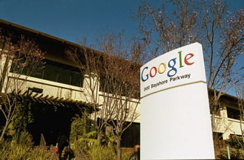 le siège de google à mountain view (californie)