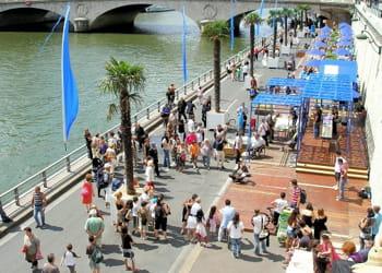 en 2009, paris plage a battu des records de fréquentation... et de coût