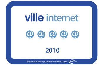 le label ville internet 2010.