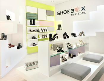 un magasin shoebox new york.