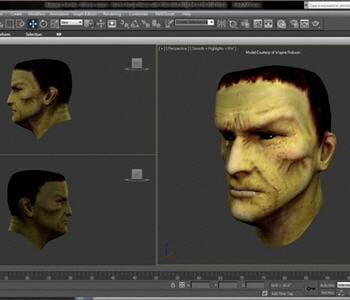 exemple de rendu dans le logiciel 3d studio max