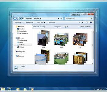 capture d'écran de windows 7