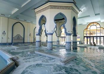le spa de la résidence des cascades, à soma bay, propose sauna, bains à bulles,