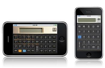 la calculatrice scientifiquetransforme l'iphone.