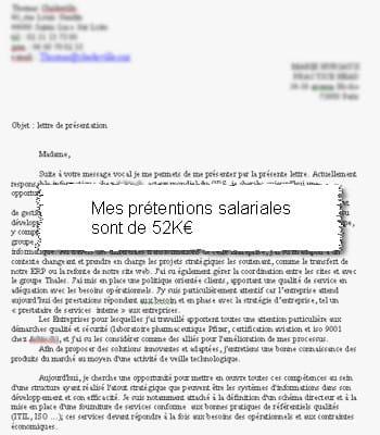 exemple de lettre de motivation avec prétention salariale gratuit exemple cv avec pretention salariale   CV Anonyme exemple de lettre de motivation avec prétention salariale gratuit