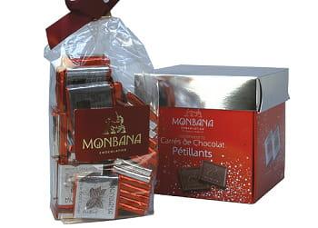 chocolat pétillant monbana.