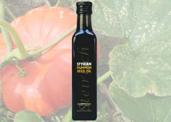 huile de graine de potiron styrian.