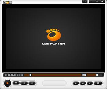 copie d'écran du logiciel gom media player, skin juicy par vlademk