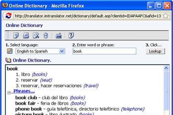 copie d'écran du module im translator