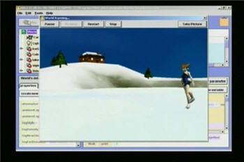 copie d'écran tirée de la vidéo de présentation des fonctionnalités d'alice, un