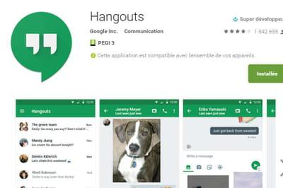 Les appels Google Hangouts adoptent le peer-to-peer