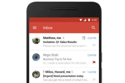 Gmail : l'app Android va enfin supporter les comptes Exchange