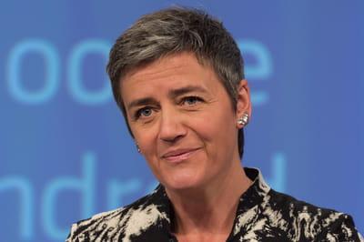 """Margrethe Vestager (Commissaire europeenne à la concurrence):""""Google a 12 semaines pour répondre aux griefs de la Commission européenne"""""""