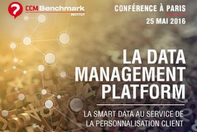 La conférence sur la Data Management Platform aura lieu le 25 mai à Paris