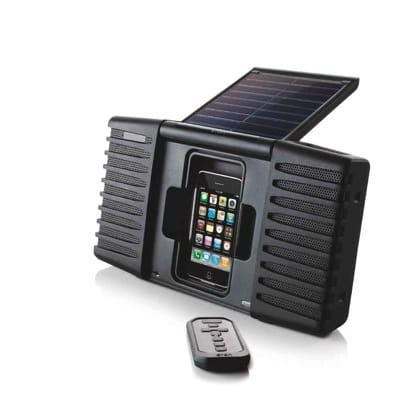 la station d'accueil soulra pour iphone et ipod.