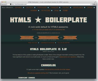 figure 5-8 : html5 boilerplate.