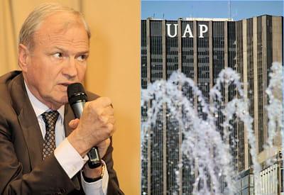 l'absorption d'uap en 1996 fit d'axa le premier assureur français.