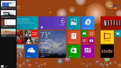 capture de windows 8.