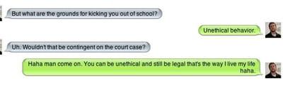 la conversation de mark zuckerberg.
