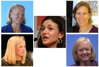 pour forbes, les cinq femmes les plus puissantes de l'informatique en 2014 ne