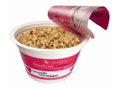 le porridge en bol micro-ondable de minsley.