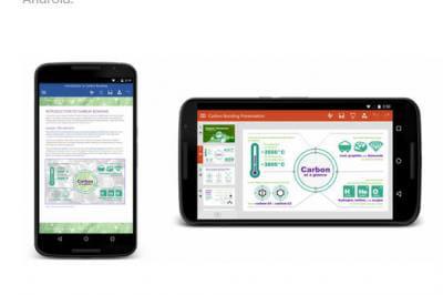 Les apps Office désormais disponibles sur smartphone Android