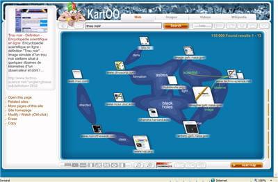 kartoo, le moteur visuel français