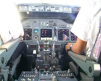 vue d'ensemble du cockpit