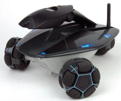 le rovio, le robot de surveillance qui se commande grâce au wi-fi