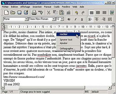 le traitement de texte alternatif