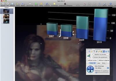 keynote : la rencontre du logiciel de présentation, de retouche d'image et de
