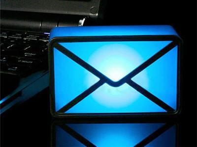 avertisseur d'emails usb