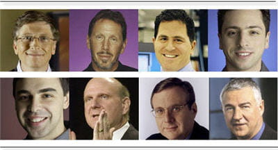 huit personnalités du secteur informatique font partie des80 patronsles mieux