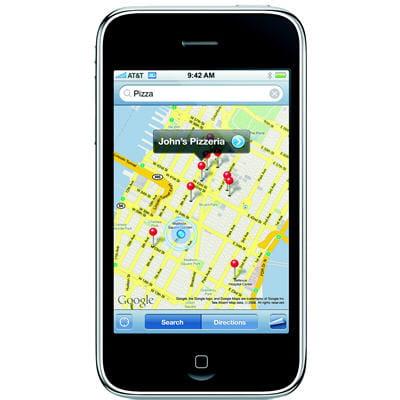 gps sur l'iphone 3g