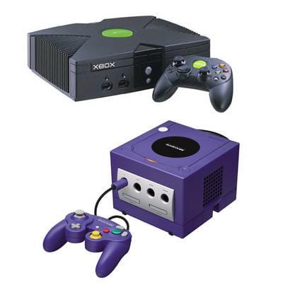la gamecube et la xbox