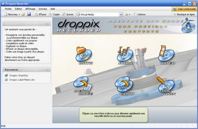 droppix recorder est un shareware plutôt réussi, et édité par une société