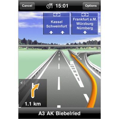 navigateur gps pour iphone